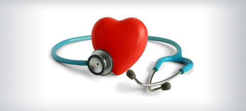 Heart Health with Stethoscope